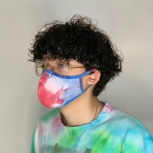 Tie Dye  Face Mask 4th of July Edition Set of 2
